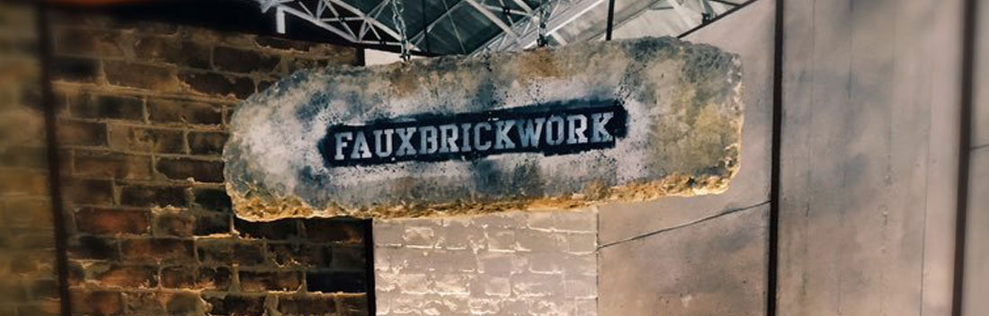 Faux Brickwork